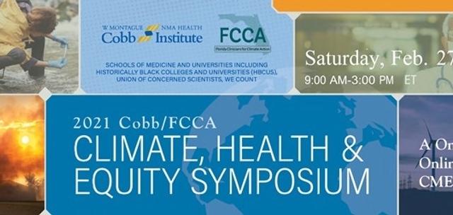 COBB Institute Climate Change and Health Symposium
