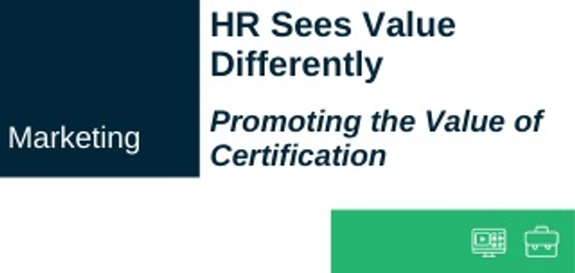 HR Sees Value Differently