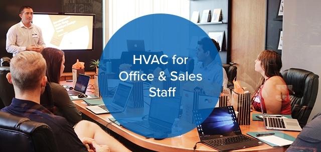 HVAC for Office & Sales Staff