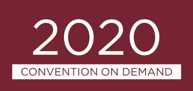 2020 Virtual Convention On Demand