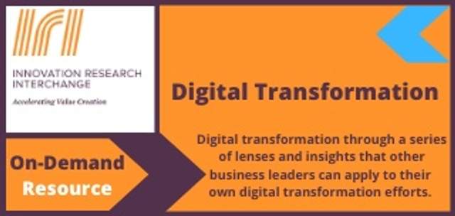 Digital transformation through a series of lenses and insights that other business leaders can apply to their  own digital transformation efforts.